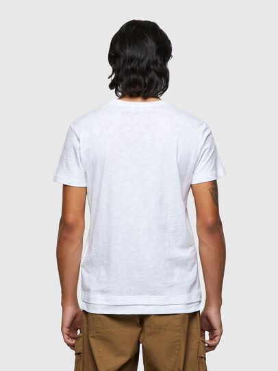 Diesel - T-NORRIE, Blanco - Camisetas - Image 2