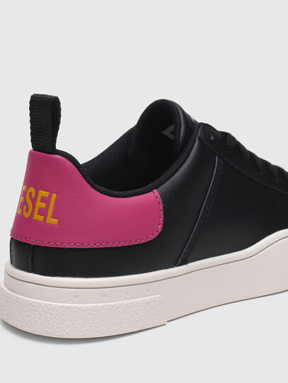 Diesel - S-CLEVER LOW LACE W, Negro/Rosa - Sneakers - Image 4