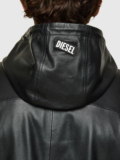 Diesel - L-CIRCLE, Negro - Chaquetas de piel - Image 4