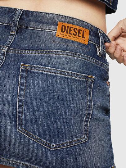 Diesel - DE-EISY, Blue Jeans - Faldas - Image 5