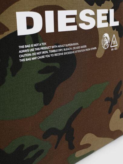 Diesel - D-THISBAG SHOPPER L, Verde Camuflaje - Bolsos Shopper y Al Hombro - Image 4