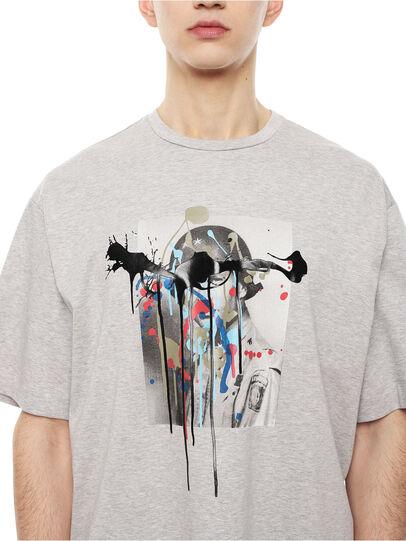 Diesel - TEORIA-MELTINGSOLDIE,  - Camisetas - Image 3