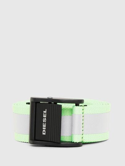 Diesel - B-FIRE, Verde Fluo - Cinturones - Image 1