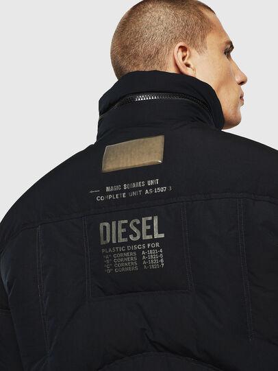 Diesel - W-PETR, Negro - Chaquetones de invierno - Image 5