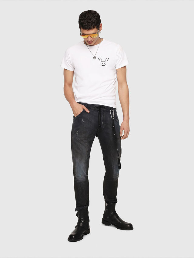 Diesel - Krooley JoggJeans 069IA, Black Jeans - Vaqueros - Image 5