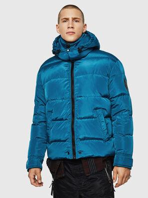 W-SMITH-YA, Azul/Verde - Chaquetones de invierno