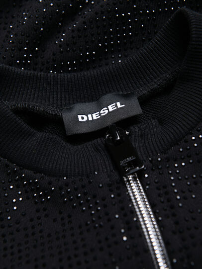 Diesel - STWINY, Negro - Sudaderas - Image 3