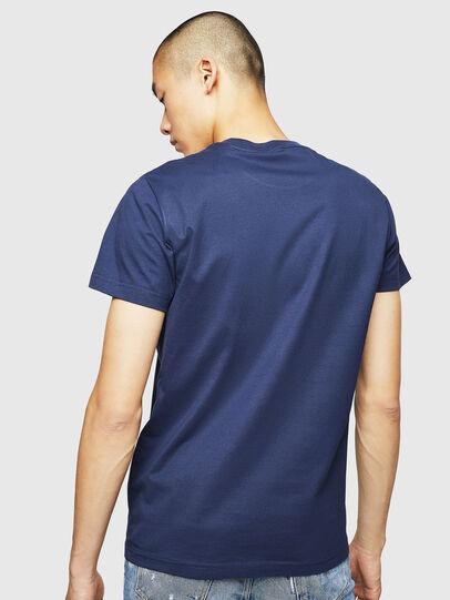 Diesel - T-DIEGO-B6, Azul - Camisetas - Image 2