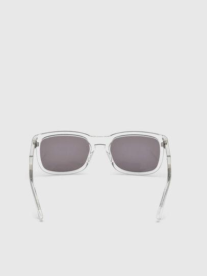 Diesel - DL0262, Blanco - Gafas de sol - Image 4