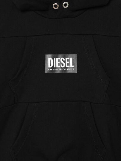 Diesel - SALBYPOCKETS OVER, Negro - Sudaderas - Image 3