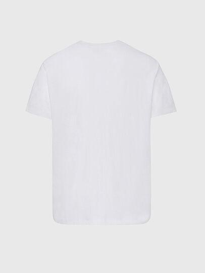 Diesel - T-RANIS-NEW2, Blanco - Camisetas - Image 2