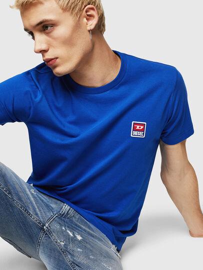 Diesel - T-DIEGO-DIV, Azul Brillante - Camisetas - Image 3