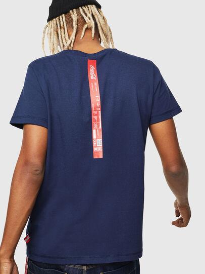 Diesel - CC-T-DIEGO-COLA, Azul Oscuro - Camisetas - Image 3