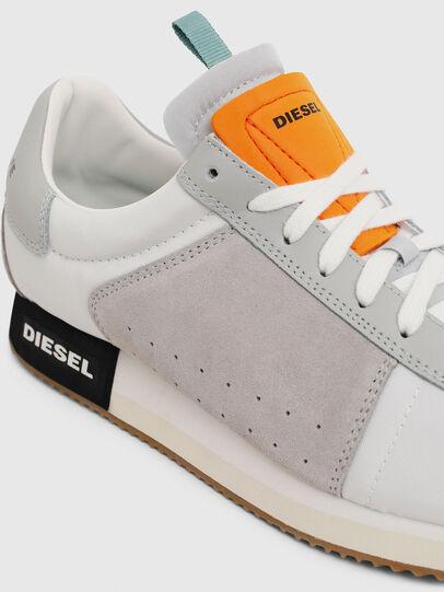 Diesel - S-PYAVE LC, Blanco/Gris - Sneakers - Image 5