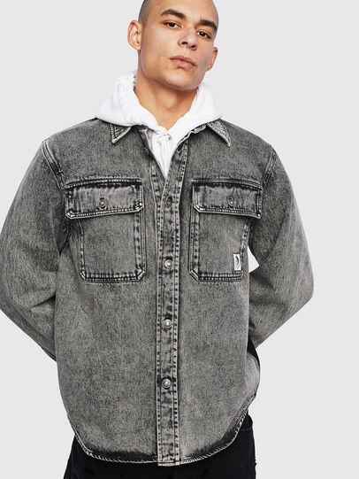 Diesel - S-JESSY-A, Negro - Camisas - Image 1