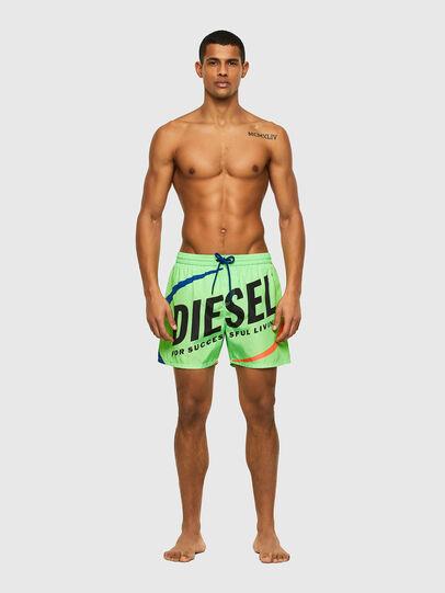Diesel - BMBX-WAVE 2.017, Verde - Bañadores boxers - Image 1