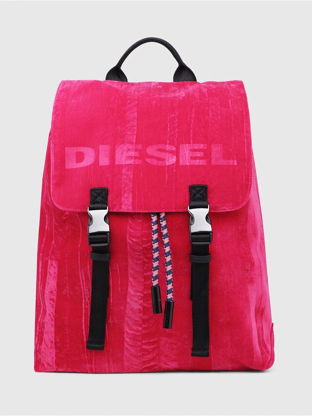 Diesel - F-MUSILE BACKPACK, Rosa Fluo - Mochilas - Image 1