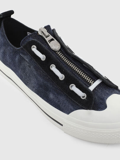 Diesel - S-ASTICO LZIP, Azul Oscuro - Sneakers - Image 4