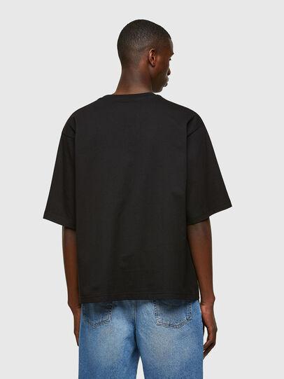 Diesel - T-DELPHI-E1, Negro - Camisetas - Image 2