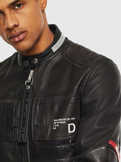 Diesel - L-DIXON, Negro - Chaquetas de piel - Image 3