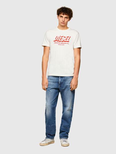 Diesel - T-DIEGOS-A5, Blanco - Camisetas - Image 4
