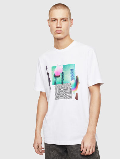 Diesel - T-JUST-T25, Blanco - Camisetas - Image 1