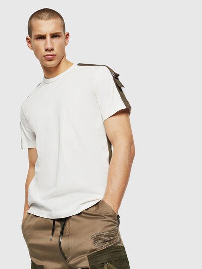 Diesel - T-VAS, Blanco - Camisetas - Image 1