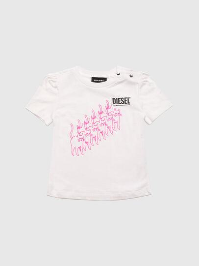 Diesel - TLOPPIB, Blanco - Camisetas y Tops - Image 1
