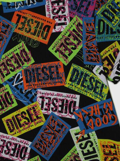 Diesel - TAIRB-R, Verde/Negro - Camisetas y Tops - Image 4