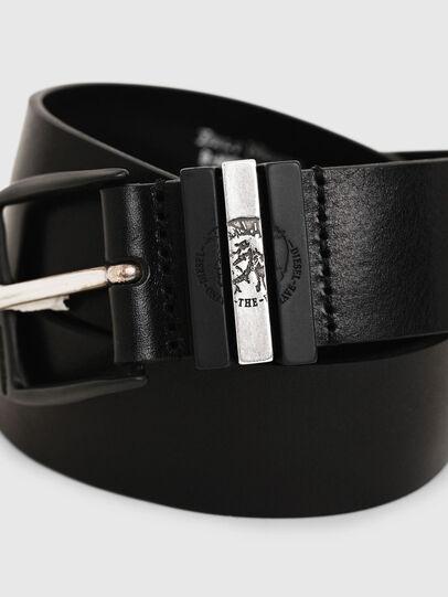 Diesel - B-HIDDEN, Negro - Cinturones - Image 2