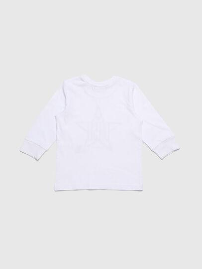 Diesel - TDIEGOYHB-ML, Blanco - Camisetas y Tops - Image 2