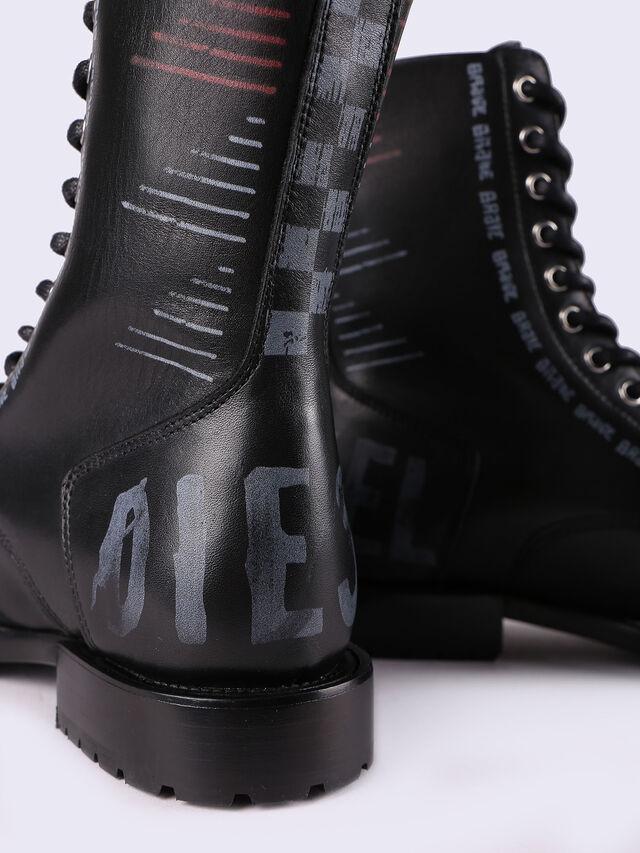 D-KOMB BOOT CB, Negro