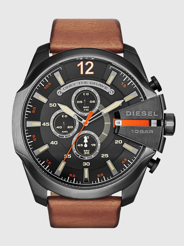 Diesel - DZ4343 MEGA CHIEF, Marrón - Relojes - Image 1