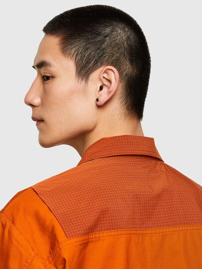 Diesel - S-GUNN-LS, Naranja - Camisas - Image 4