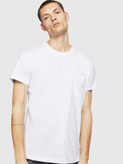 Diesel - T-DIEGO-POCKET-B1, Blanco - Camisetas - Image 1