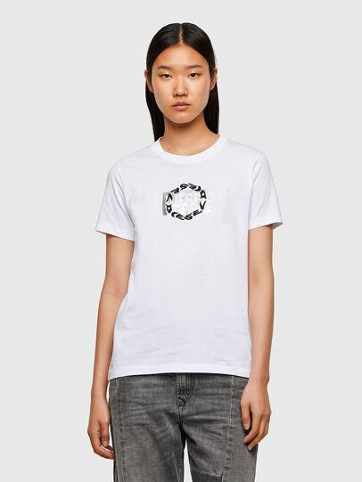 Diesel - T-SILY-R5, Blanco - Camisetas - Image 1