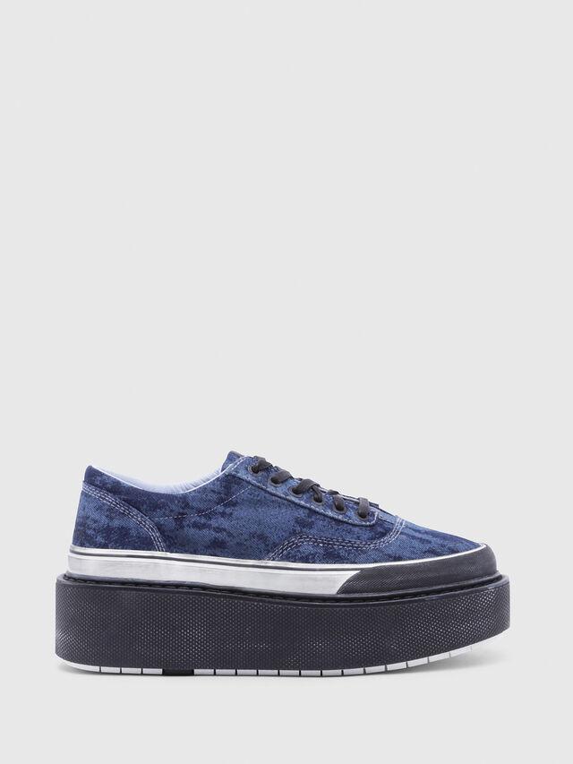 Diesel - H-SCIROCCO LOW, Azul - Sneakers - Image 1