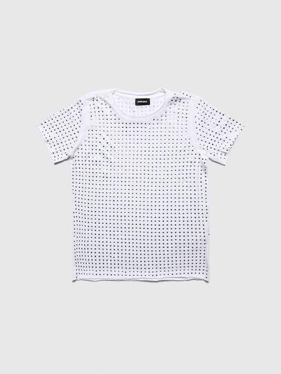 Diesel - TJRATY, Blanco - Camisetas y Tops - Image 1