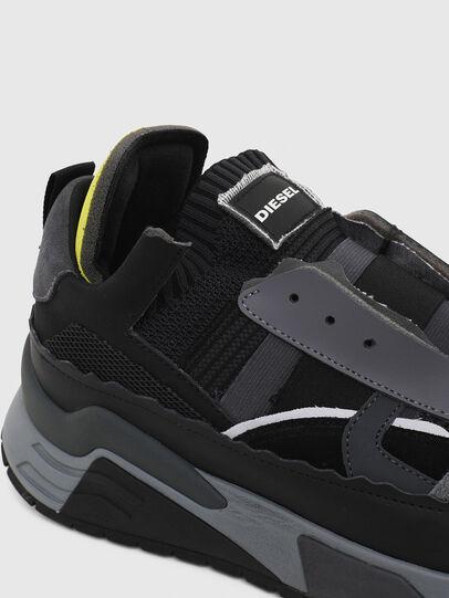 Diesel - S-BRENTHA DEC, Negro/Gris - Sneakers - Image 5