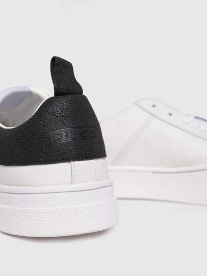 Diesel - S-CLEVER LOW, Blanco/Negro - Sneakers - Image 4