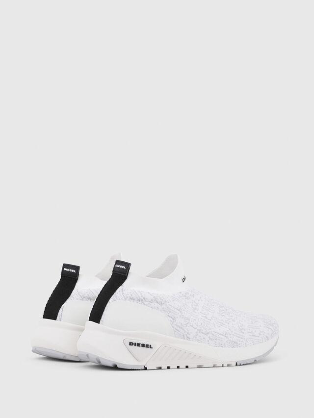 Diesel - S-KB ATHL SOCK, Blanco - Sneakers - Image 3