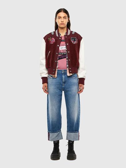 Diesel - T-SILY-V20, Rosa - Camisetas - Image 5