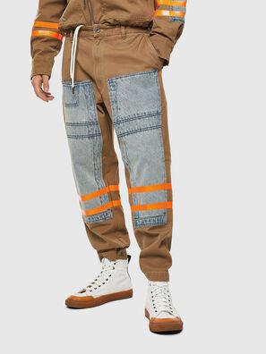 P-CARUSO, Marrón Claro - Pantalones