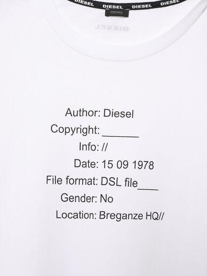 Diesel - UFTEE-ELODIE, Blanco - Camisetas - Image 3