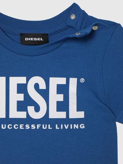 Diesel - TJUSTLOGOB, Azul - Camisetas y Tops - Image 3