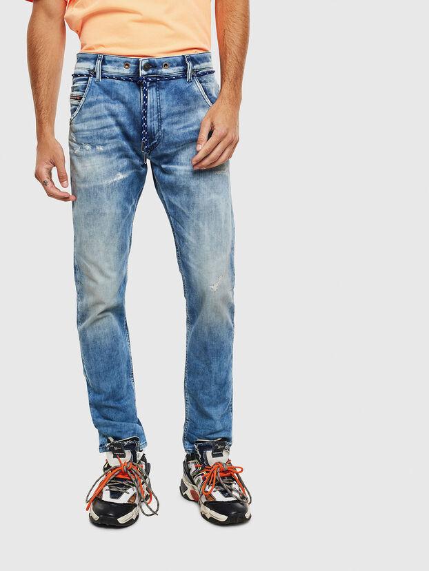 Krooley JoggJeans 0099Q, Azul medio - Vaqueros