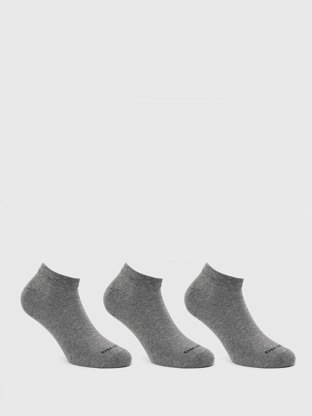 Diesel - SKM-GOST-THREEPACK, Gris - Calcetines cortos - Image 1