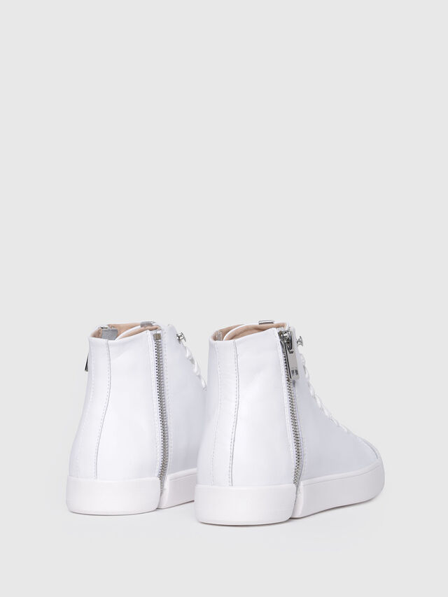 Diesel - S-NENTISH MC W, Blanco - Sneakers - Image 3