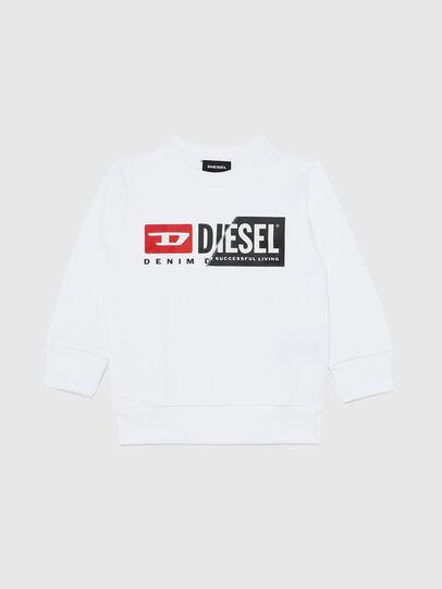 Diesel - SGIRKCUTYB-R, Blanco - Sudaderas - Image 1