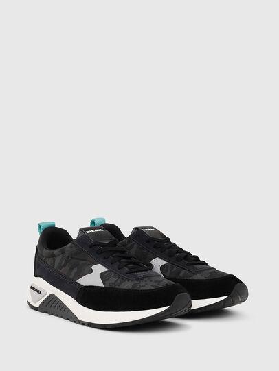 Diesel - S-KB LOW LACE II, Negro/Gris oscuro - Sneakers - Image 2